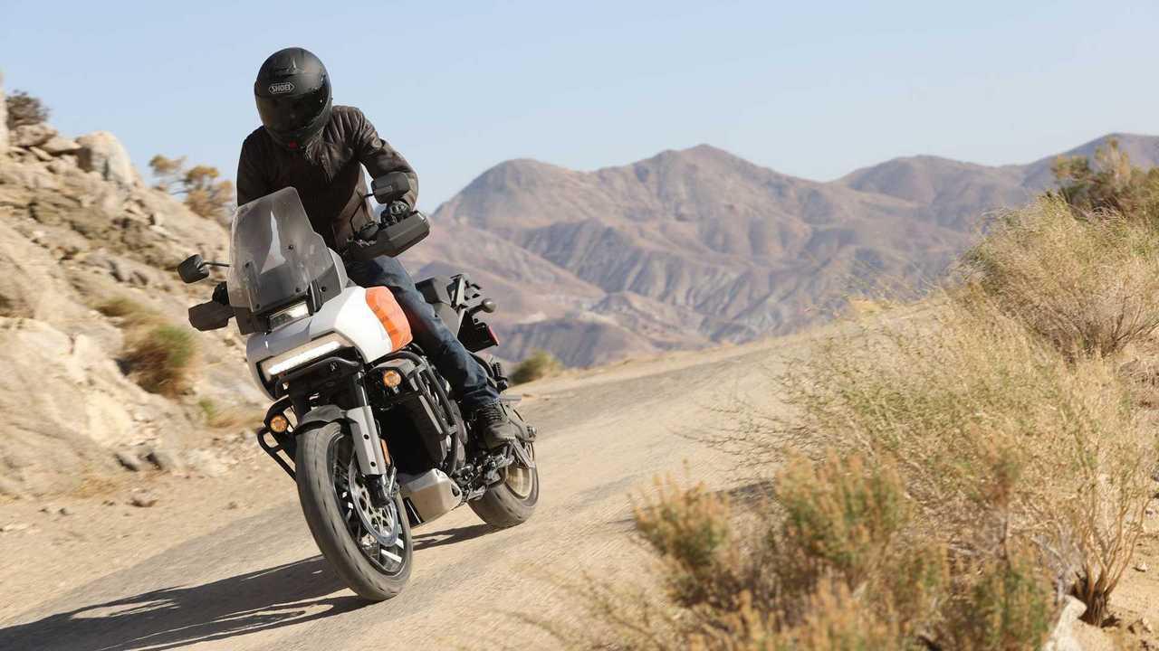 Unterwegs mit der Harley-Davidson Pan America