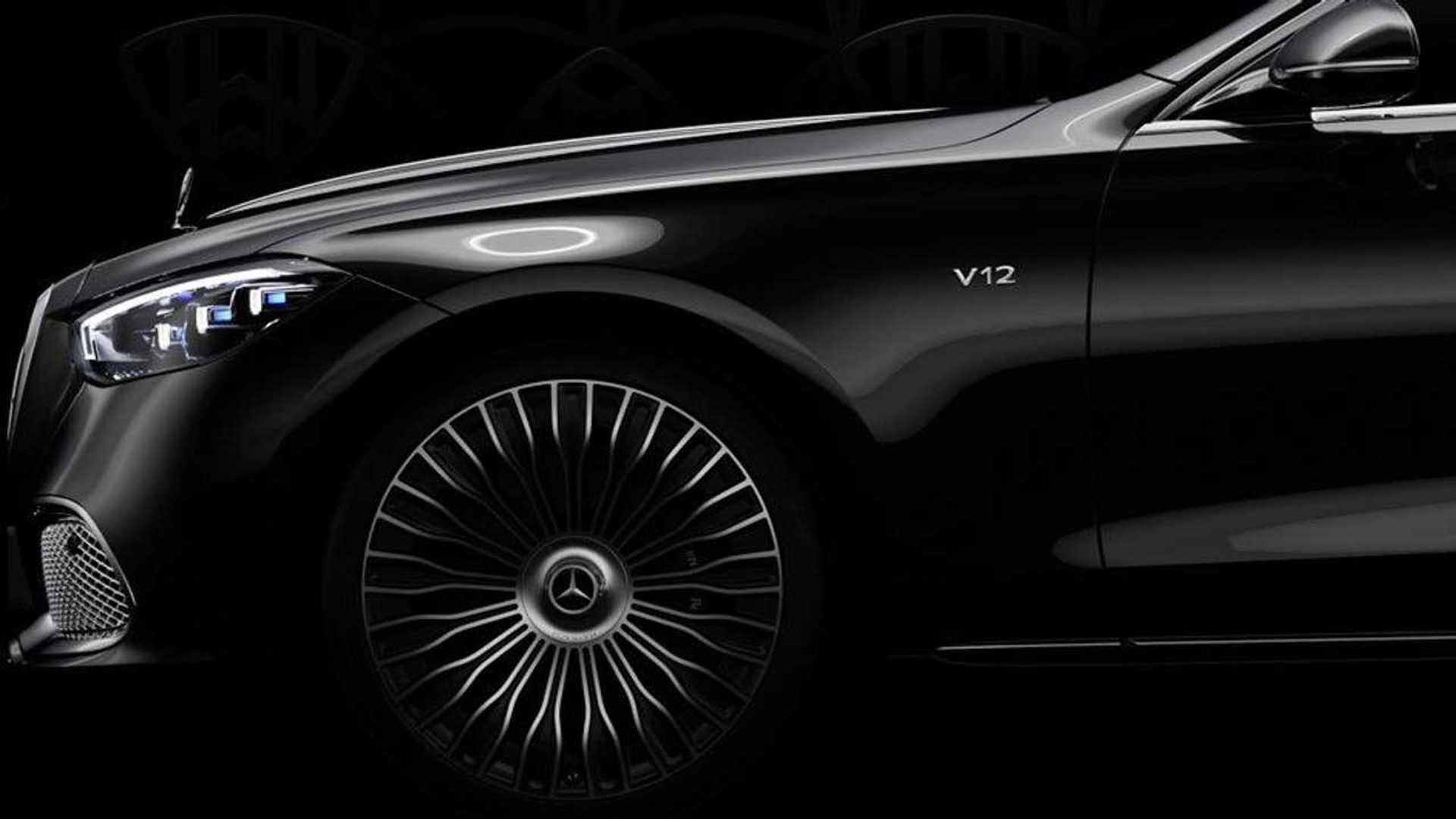 Zwiastun Mercedesa Klasy S z silnikiem V12 na 100-rocznicę Maybacha