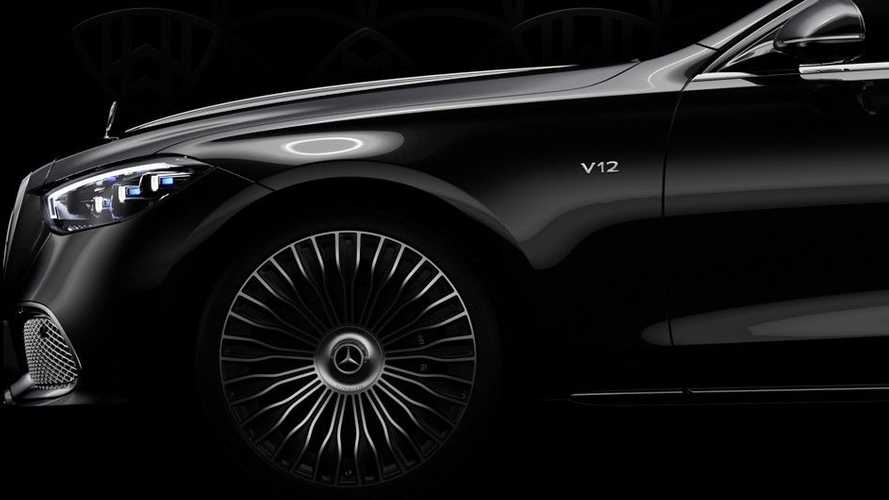 Mercedes-Maybach Clase S V12, teasers