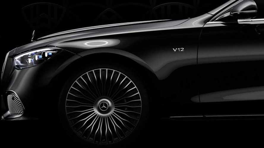 Тизер Mercedes-Maybach S-класса с V12