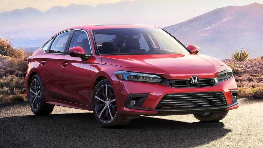 Nuova Honda Civic, ecco com'è fatta la berlina a quattro porte