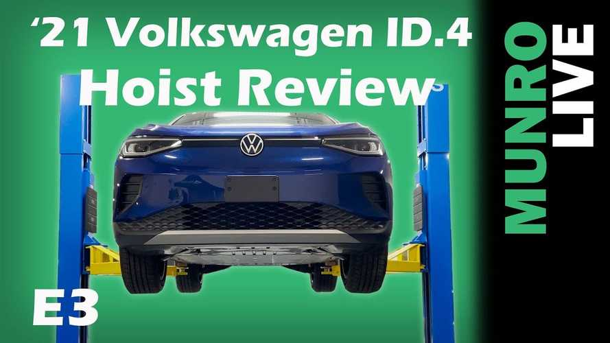 Sandy Munro Takes A Look At Volkswagen ID.4 Undercarriage