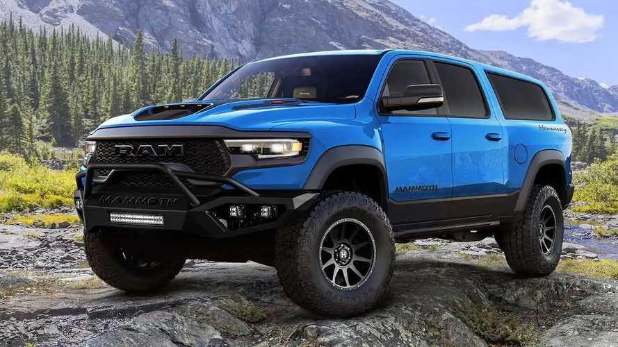 Ram TRX, Hennessey lo trasforma in un super-SUV