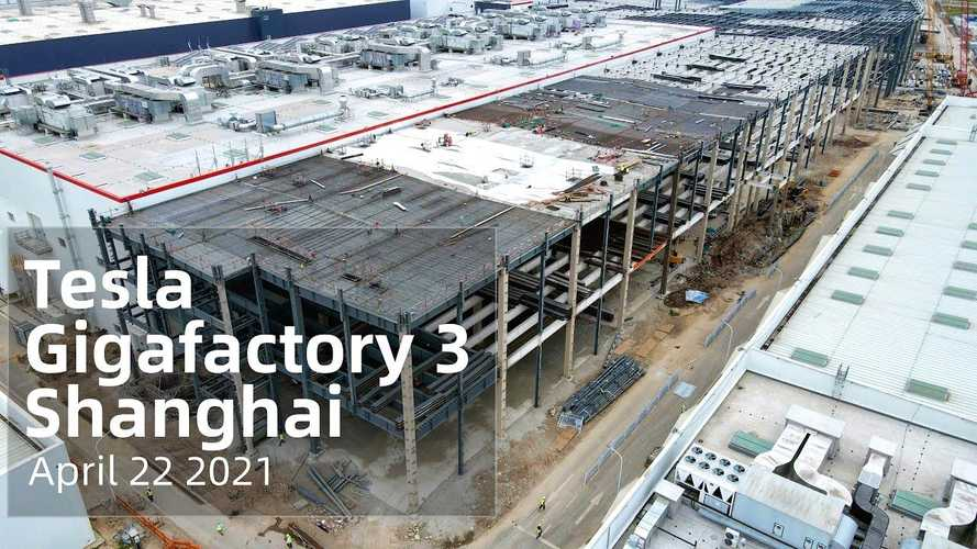 See Huge Number Of Tesla Cars Ready For Delivery At Giga Shanghai
