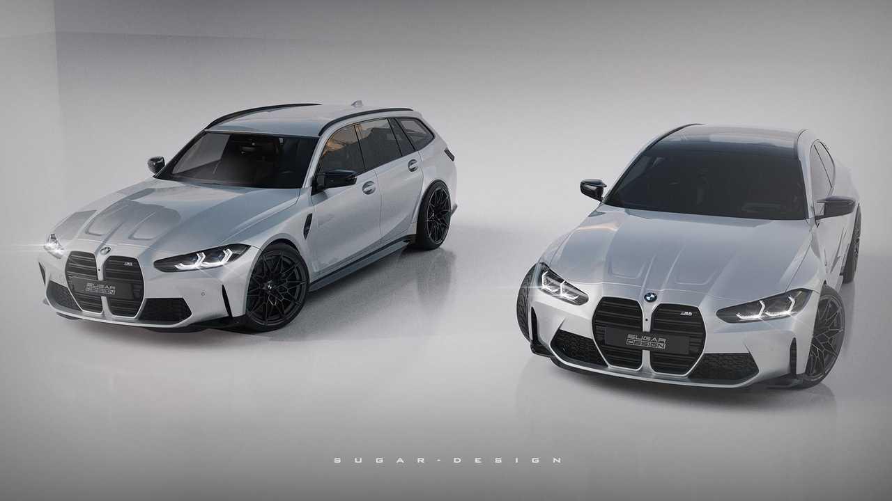 Rendu BMW M3 Touring / M4 Shooting Brake