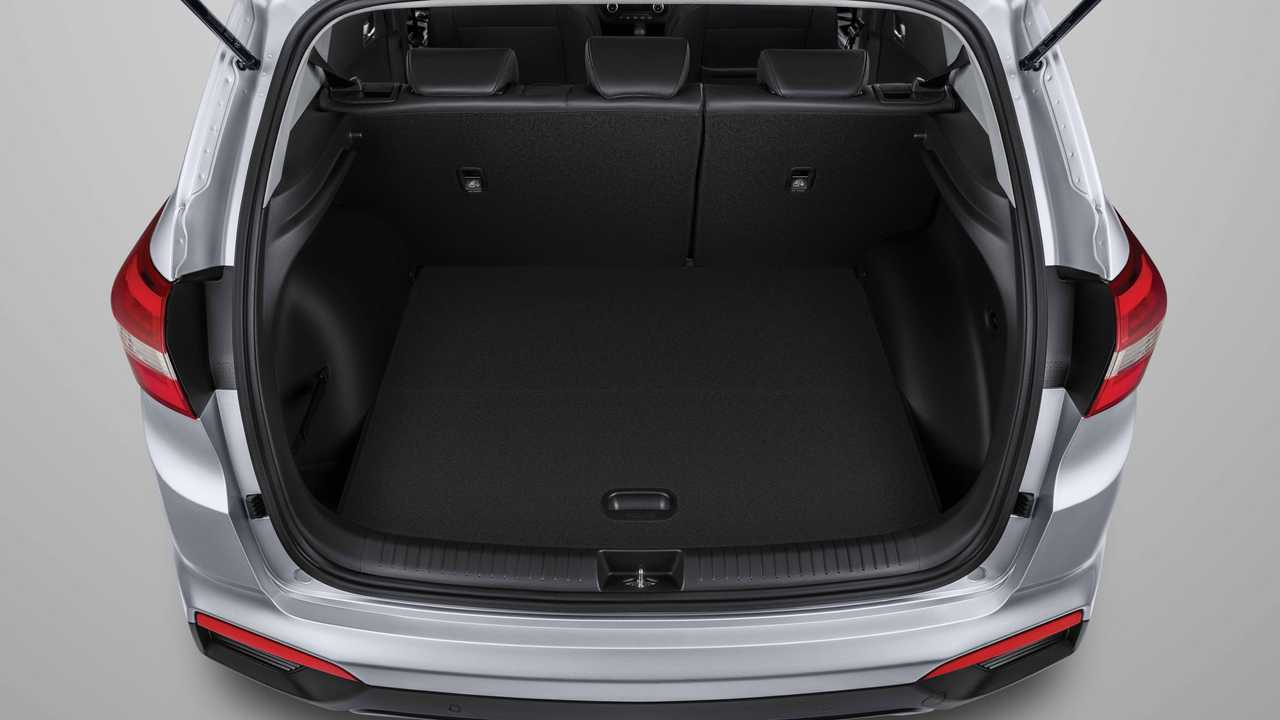 Hyundai Creta, багажник