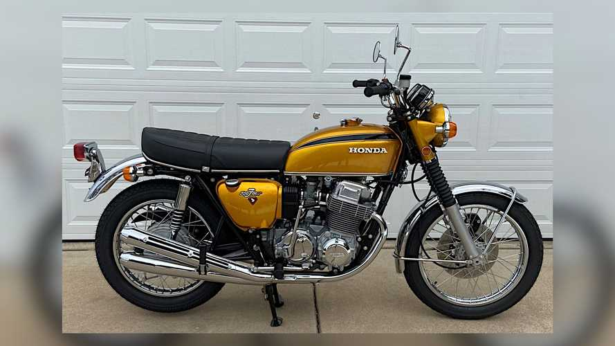 This Candy Gold 1971 Honda CB750 Could Be Your Next Sweet Treat