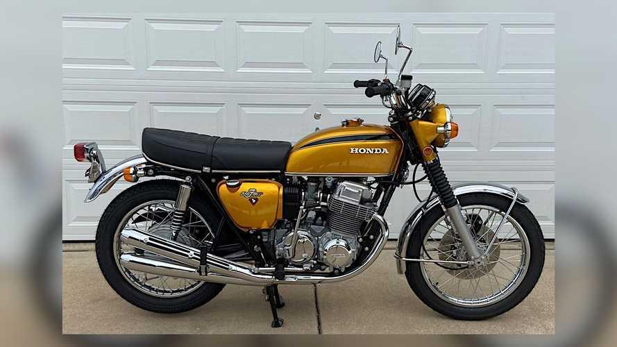 Honda CB750 1971: Bersemayam 39 Tahun di Gudang lalu Restorasi Total