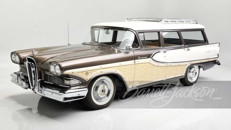 Edsel Ford's Son Selling Two Of His Best Wagons From Family Collection