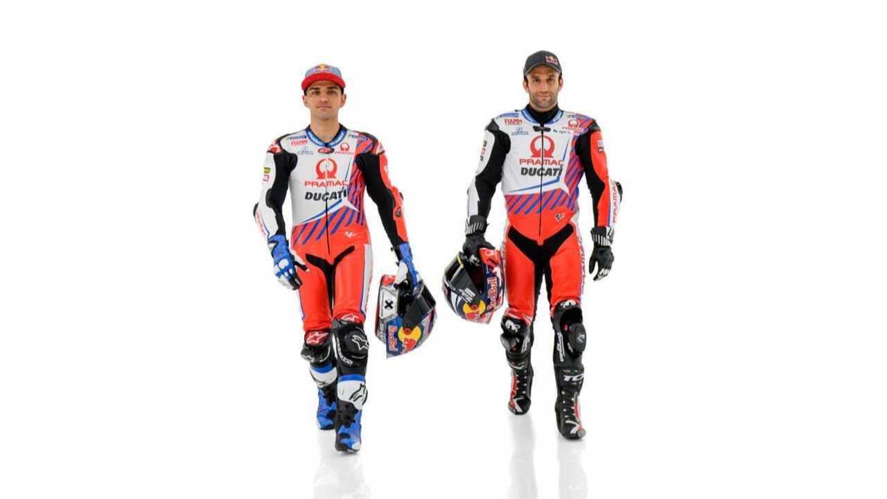 Pramac Racing 2022 Zarco and Martin