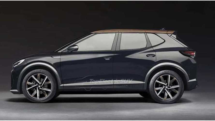 SUV compacto elétrico do Grupo Volkswagen tem visual antecipado