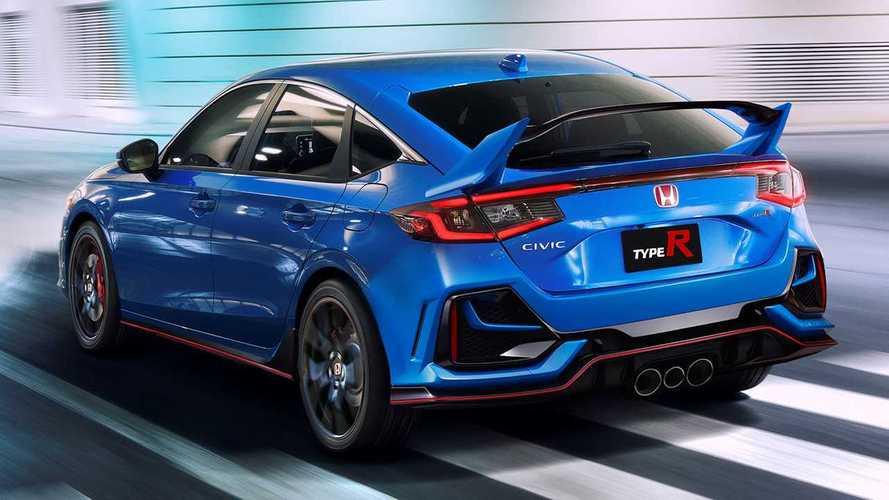 Novo Honda Civic Type R - Projeção