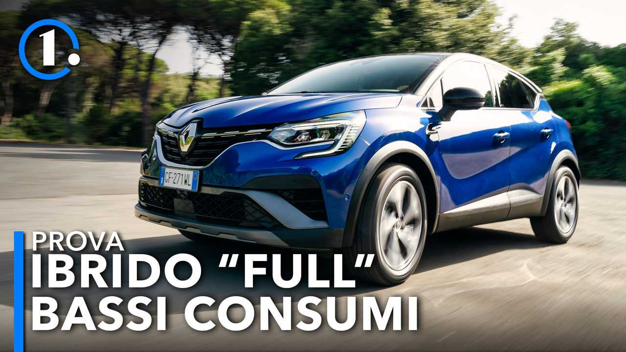 Renault Captur E-Tech, la full hybrid consuma poco