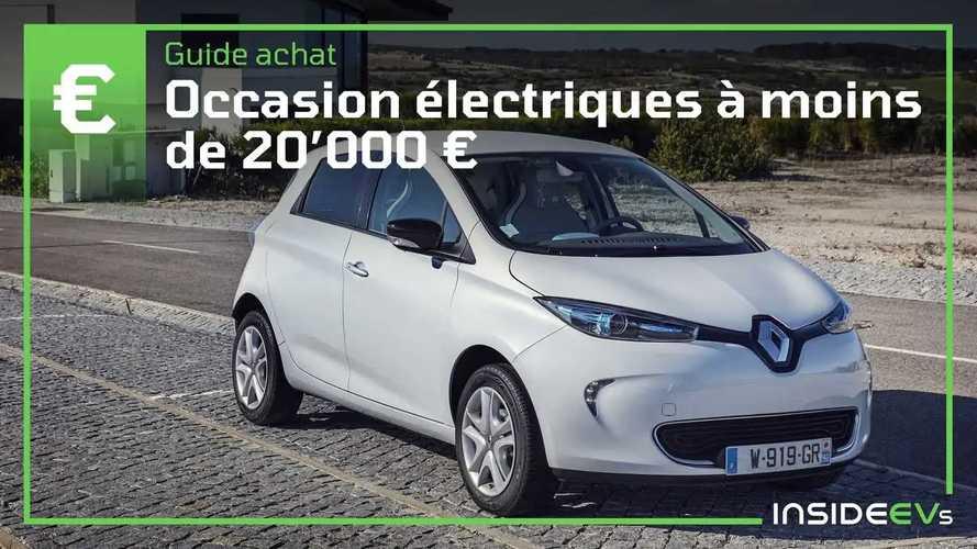 Occasion - Les meilleures voiture électriques à moins de 20'000 €