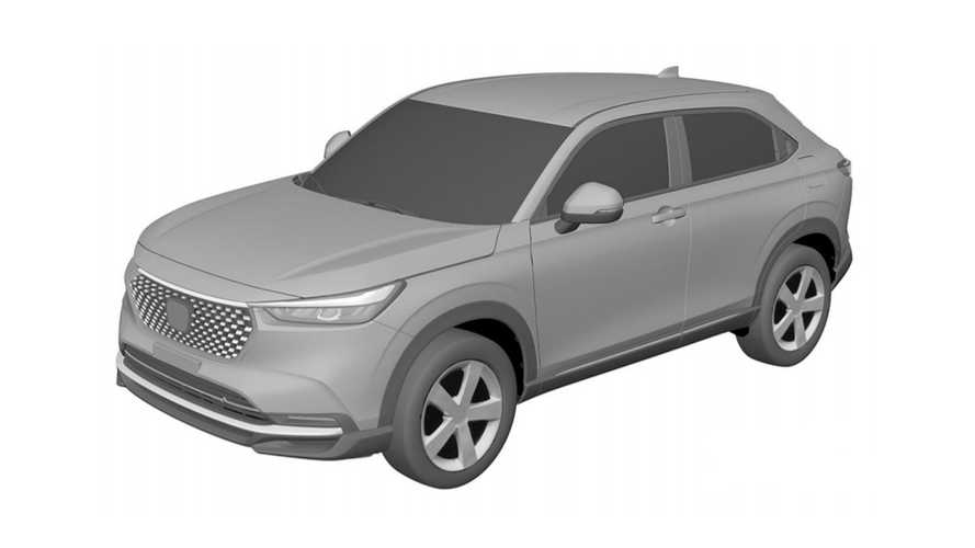 Novo Honda HR-V 2023 tem desenho registrado no Brasil