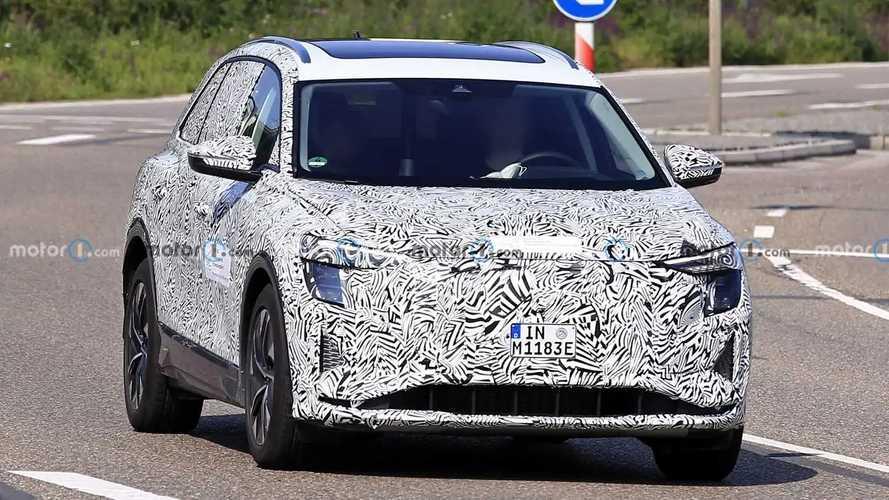 Photos espion SUV Audi - Juillet 2021