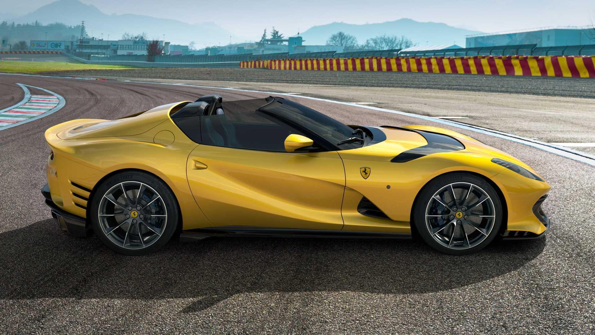 Ferrari 812 Competizione A Revealed: V12 Targa With 830 HP - Motor1
