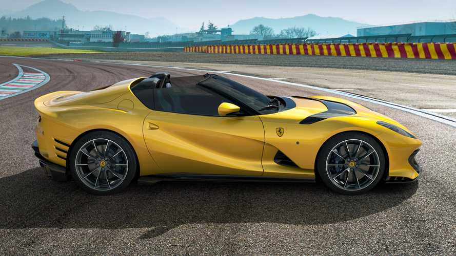 Ferrari 812 Competizione A revealed: V12 targa with 819 bhp