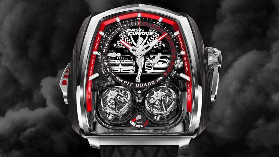 Fast & Furious Twin Turbo Watch Has 832 Parts, Costs Supercar Money