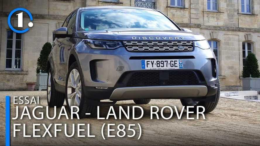 Essai Land Rover Discovery Sport E85 - Comment rouler pas cher ?