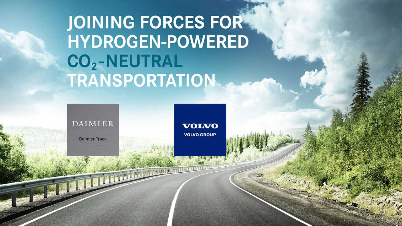 Daimler Trucks und Volvo gründen Brennstoffzellen-Joint-Venture Cellcentric