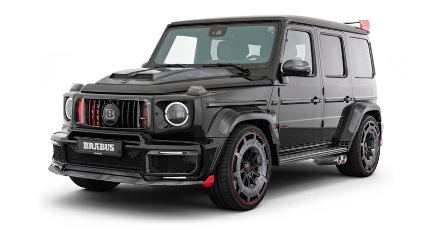 Brabus 900 Rocket Edition Unleashed As G-Class-Based Supercar