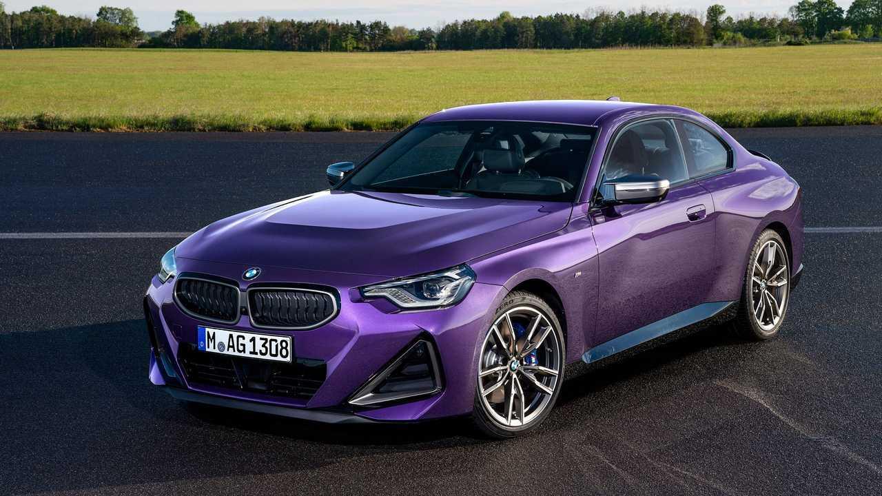 Das neue BMW 2er Coupé, hier als M240i xDrive.