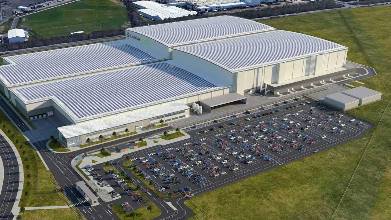 Neues Batteriewerk von Envision-AESC in Sunderland könnte auch Jaguar Land Rover beliefern