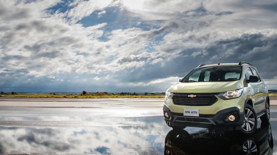 Teste Instrumentado Novo Chevrolet Spin Activ 2019 A Famlia Agradece