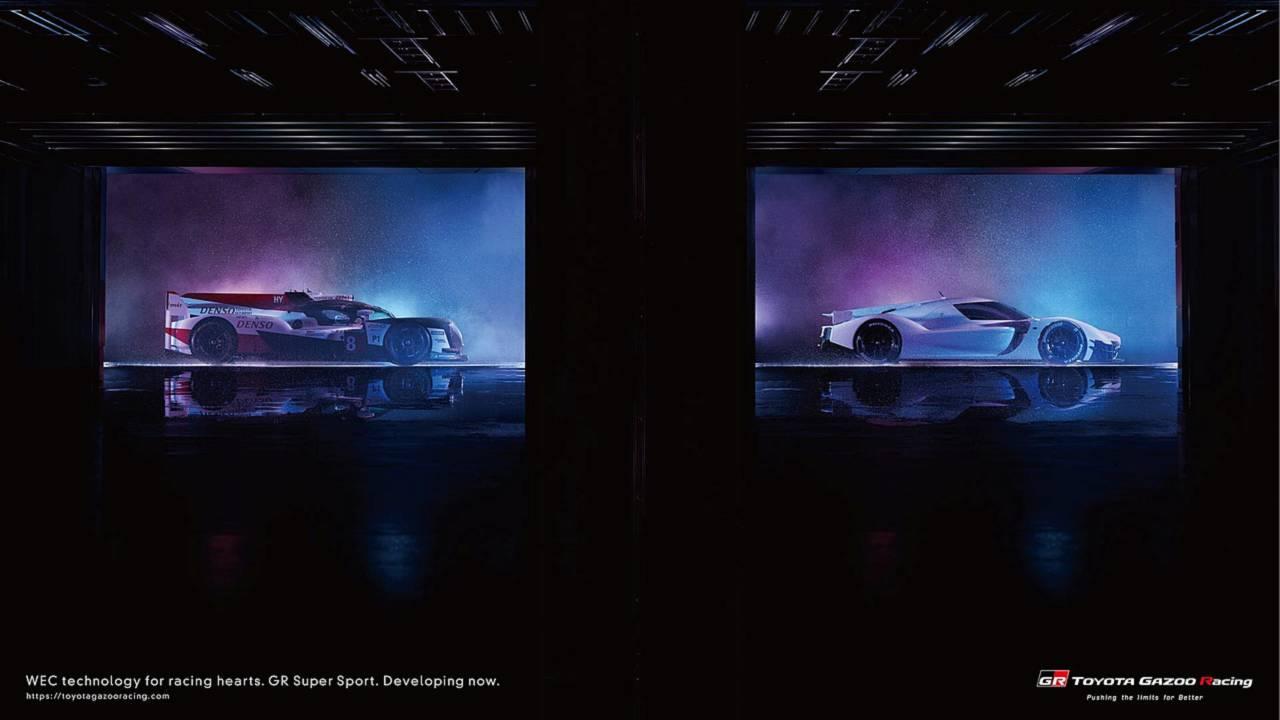 Toyota GR Super Sport Concept Live Photos