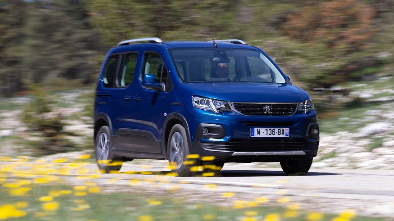 Peugeot Rifter 2018 imágenes oficiales