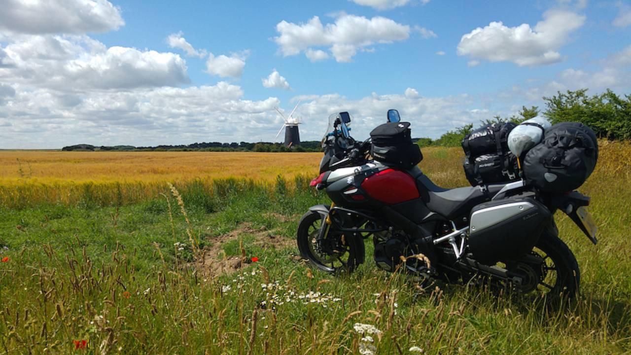 Road Trip: Europe On a Suzuki V-Strom 1000 Part 1