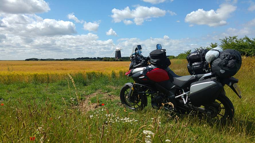 Road Trip: Europe On a Suzuki V-Strom 1000 Part 1
