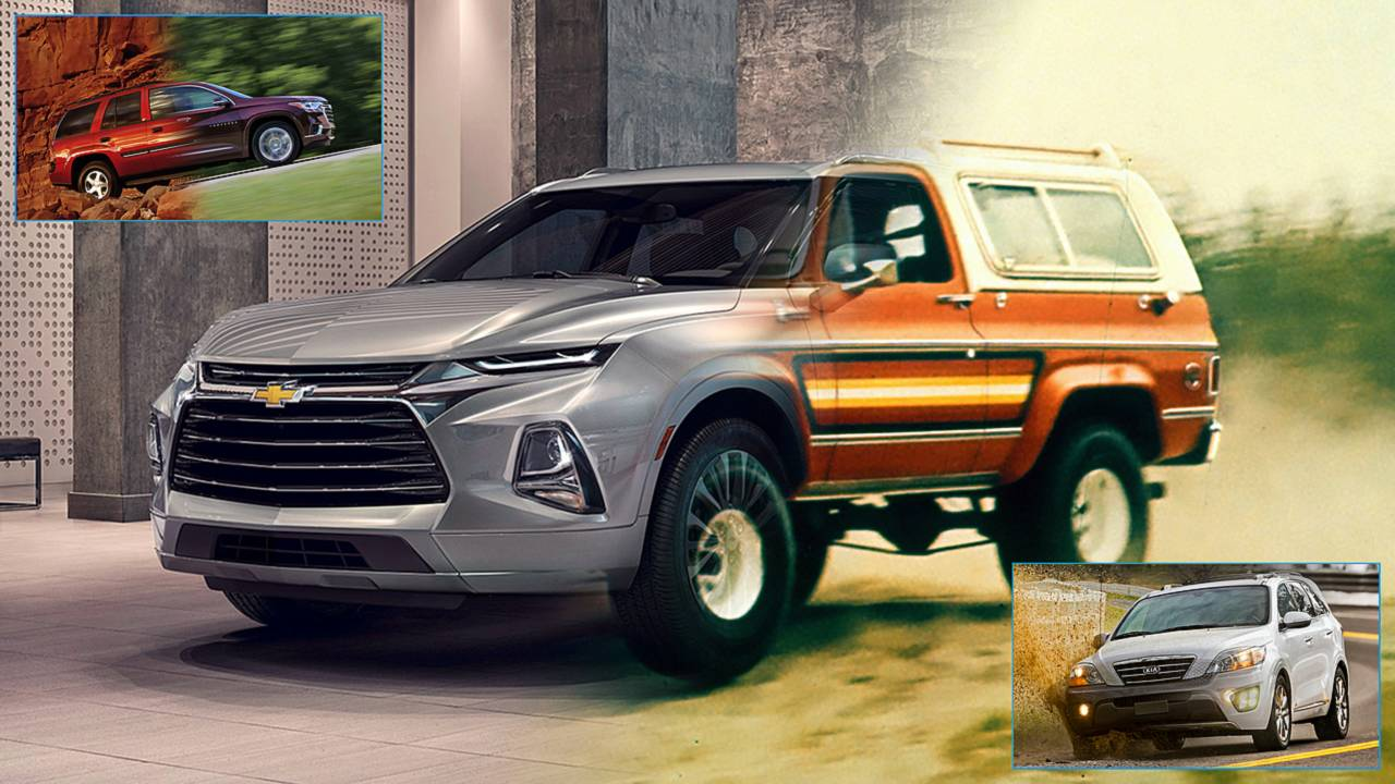 SUVs That Became Crossovers