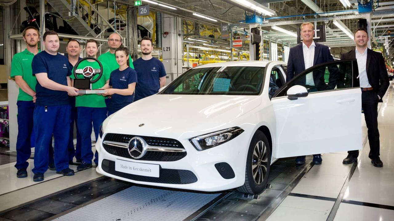 Mercedes A-Class production starts in Kecskemét