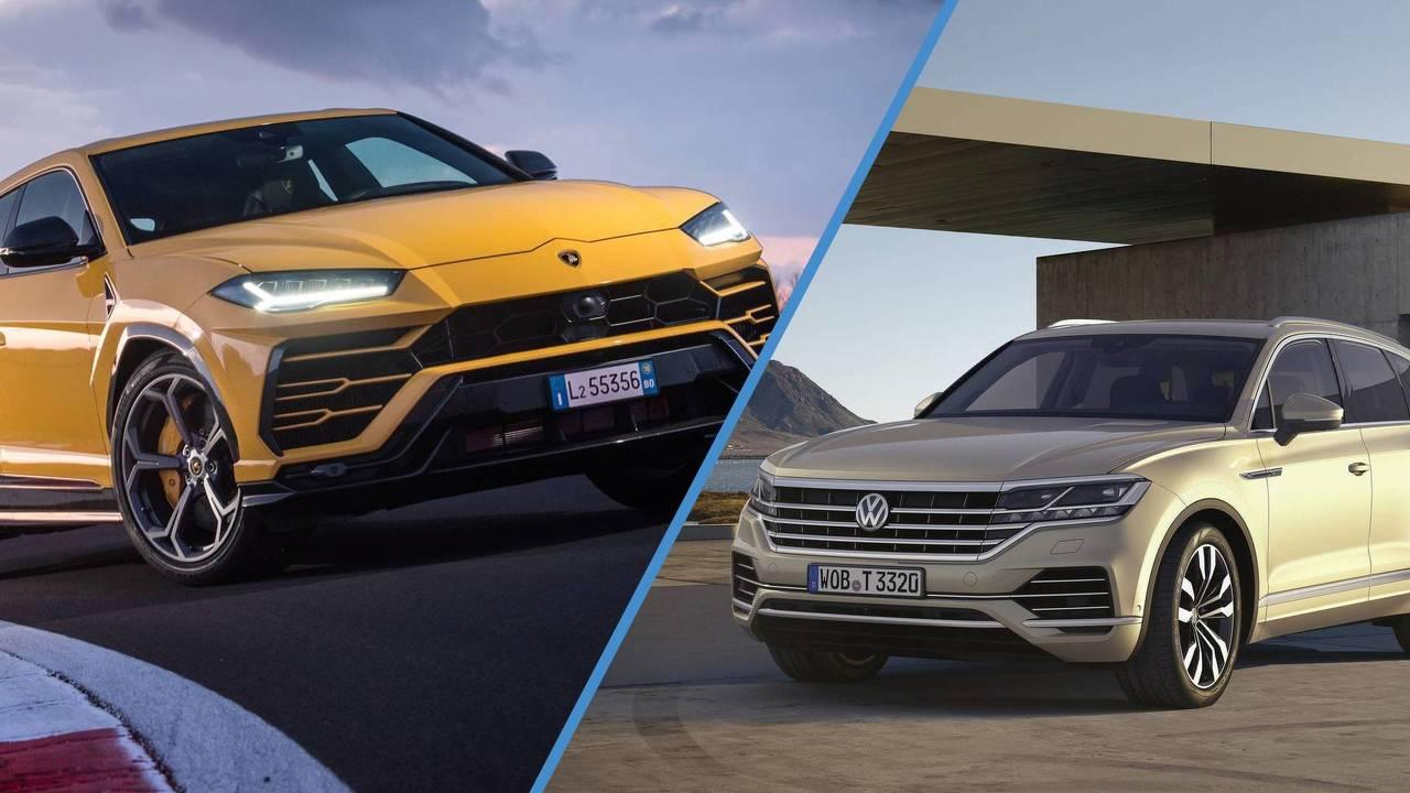 Lamborghini Urus & Volkswagen Touareg