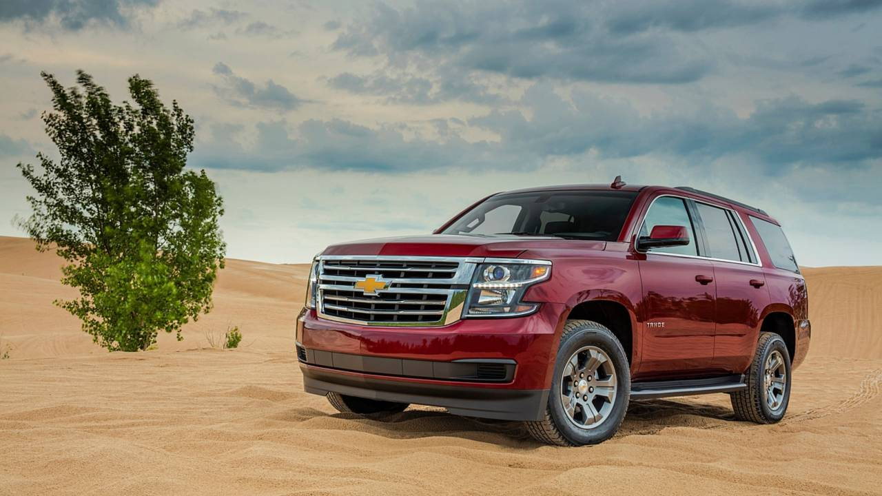 3. Full-Size SUV/Crossover: Chevrolet Tahoe