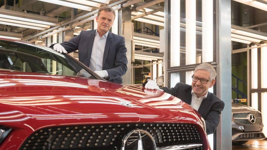 Mercedes A-osztály, gyártás