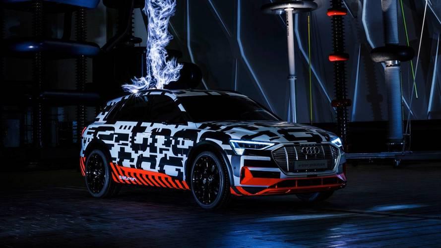 Audi, E-Tron SUV'sinin menzilini açıkladı