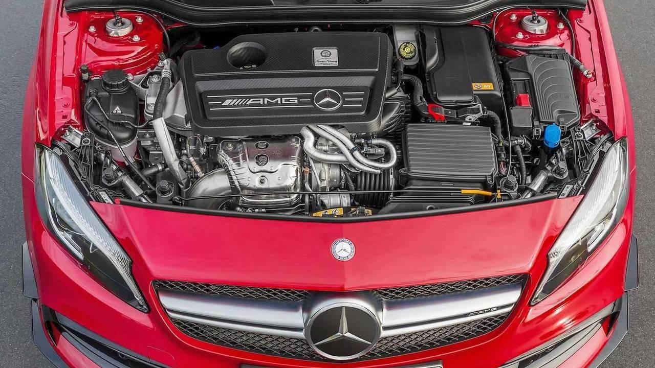 4 Silindir - Mercedes-AMG'nin 2.0 Litrelik Motoru