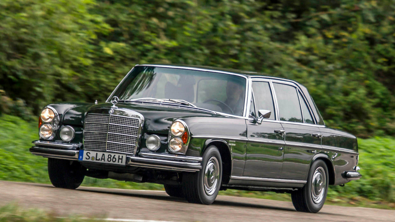 Platz 14: Mercedes W 108/109