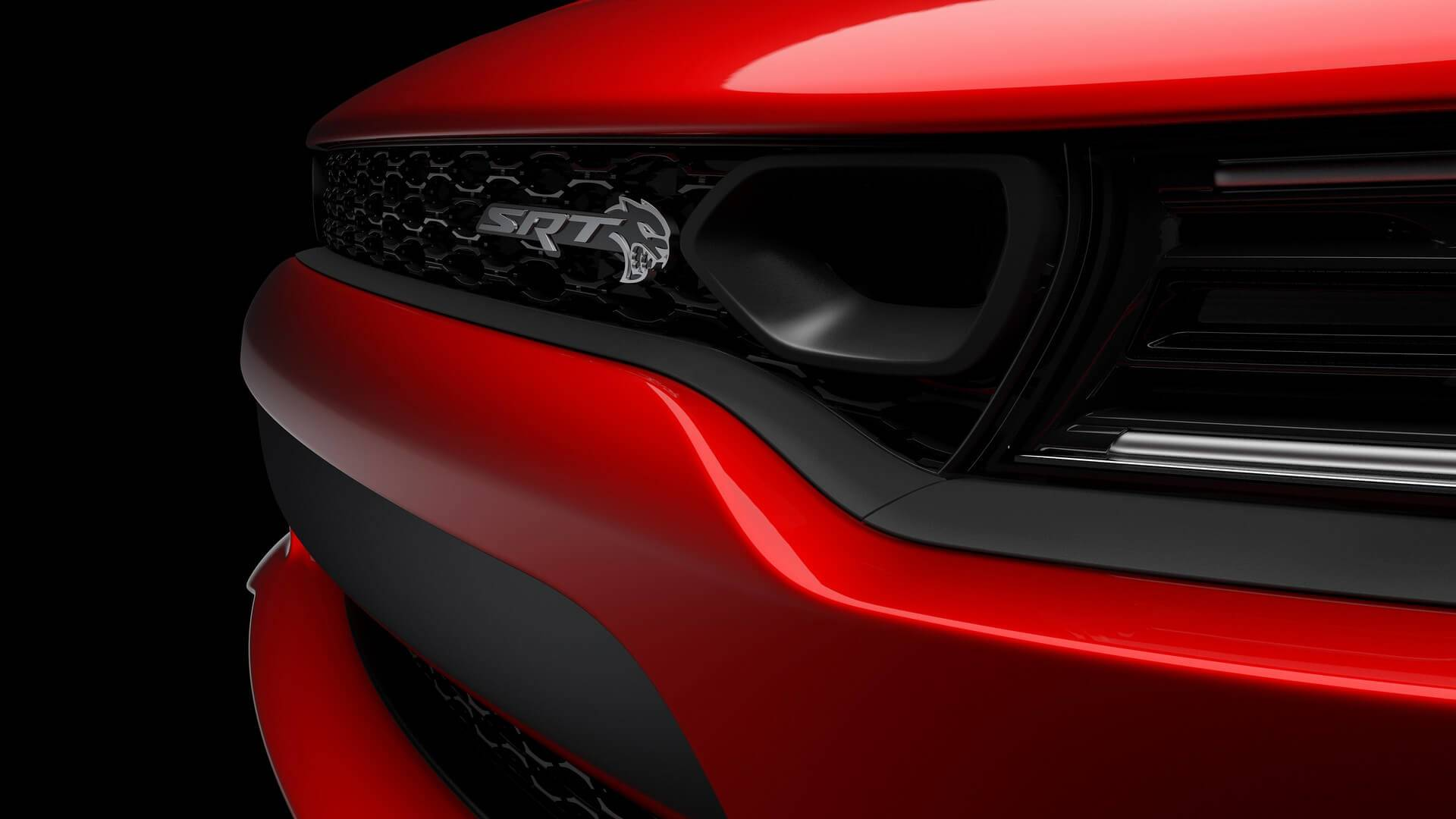 2019 Dodge Charger Srt Hellcat Teases Its All New Front Grille