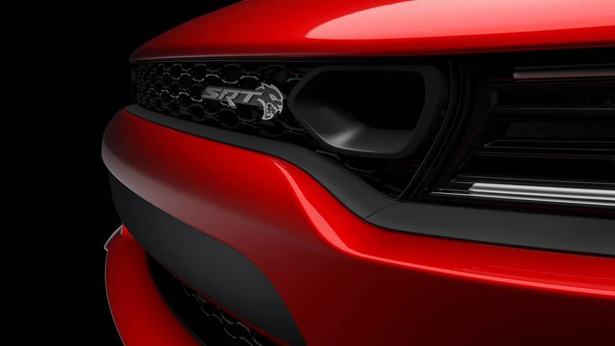 2019 Dodge Charger SRT Hellcat Teases Its All-New Front Grille
