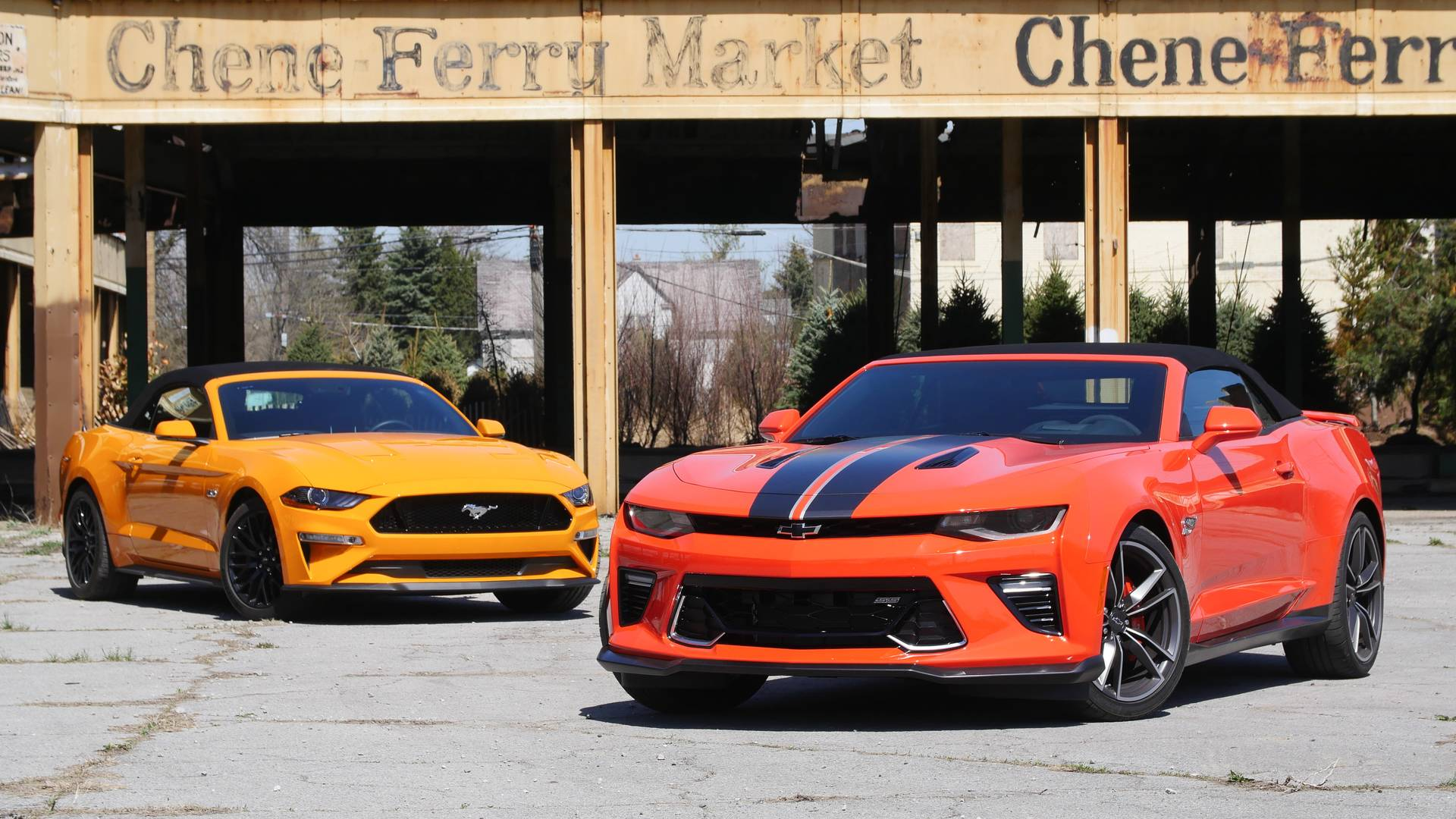 Ford mustang sales driving circles around slow selling camaro