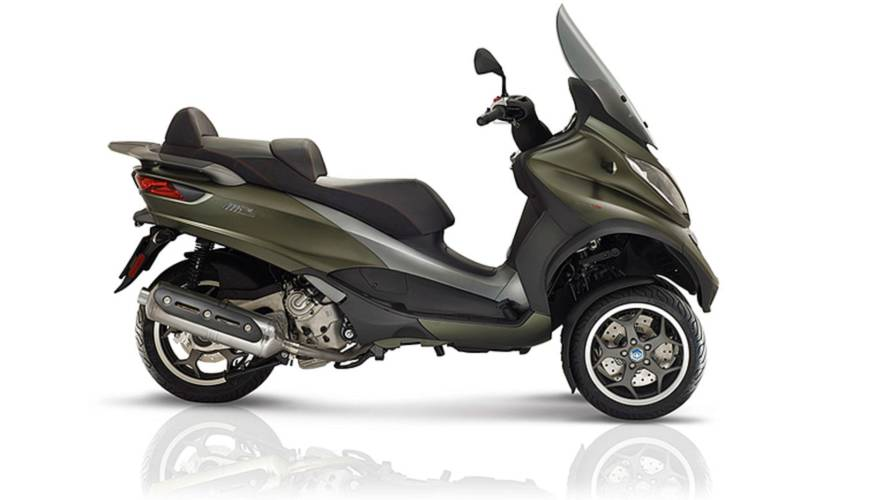 Piaggio Expands MP3 Lineup With New Starter Scooters