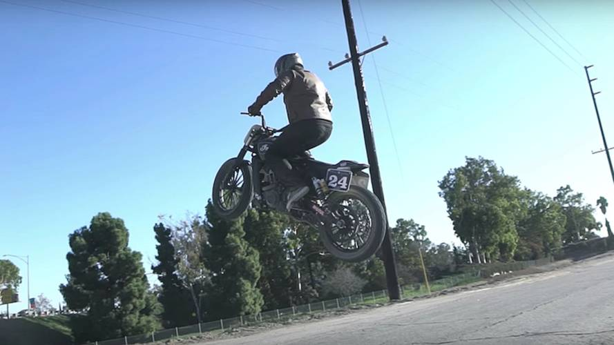 Video of the Day: Indian Scout Gets Air