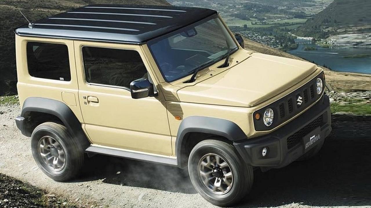 2019 Suzuki Jimny official image