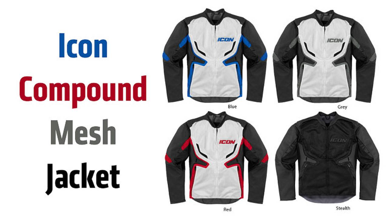 Gear: ICON Compound Mesh Jacket