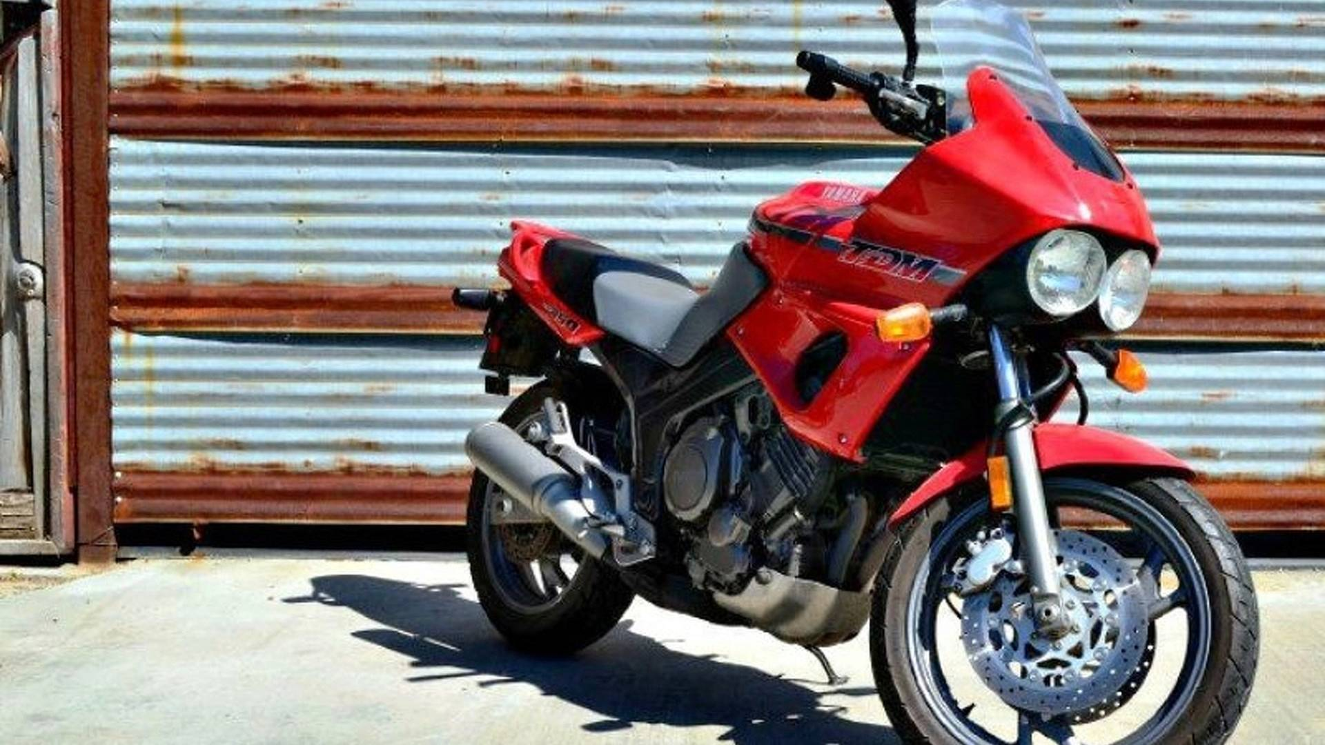 Yamaha TDM850 Proto-Adventure Bike - Online Find eBay Edition