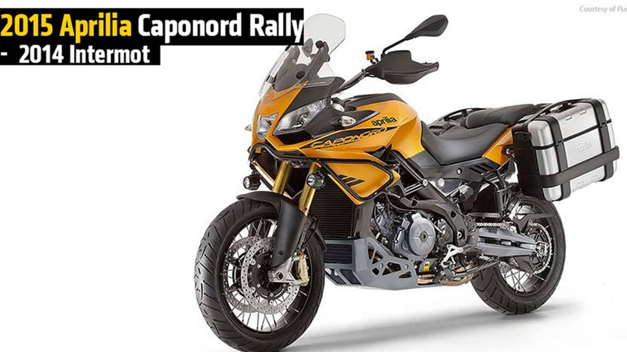 2015 Aprilia Caponord Rally -  2014 Intermot
